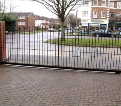 Electric Sliding Gates For Residential Driveways By The